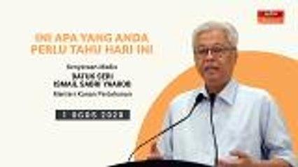 5 perkara penting kenyataan media harian PKPP - 01 Ogos 2020