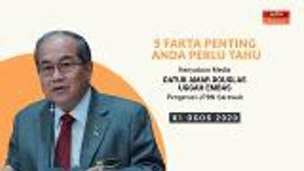 5 fakta penting kenyataan media Pengerusi JBPN Sarawak - 01 Ogos 2020