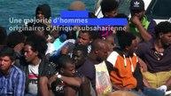 Plus d'une centaine de migrants secourus accostent à Lampedusa