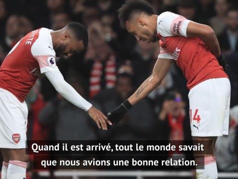 """Arsenal - Lacazette : """"Mon avenir ne dépend pas de celui d'Aubameyang"""""""