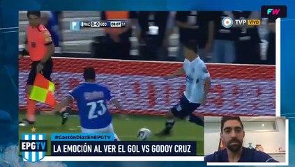 Gastón Díaz revive el gol de Centurión a Godoy Cruz