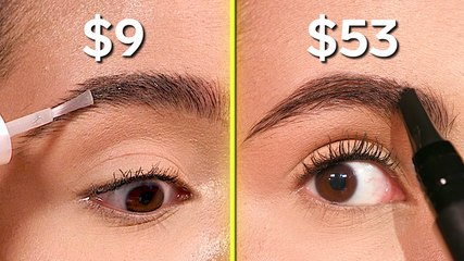 We tried $9 vs. $54 brow gel to see which is worth the money