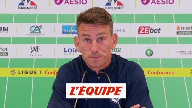 Koscielny «Saint-Etienne était beaucoup plus en jambes» - Foot - L1 - Bordeaux