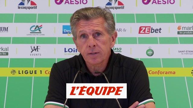Puel : «Tout le monde a joué le jeu» - Foot - L1 - Saint-Etienne