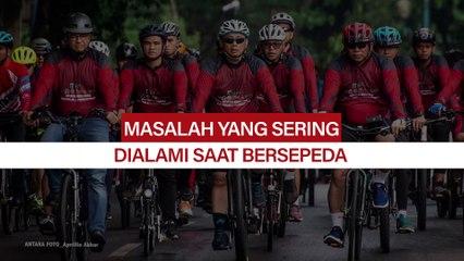 Bersepeda bersama (ilustrasi)