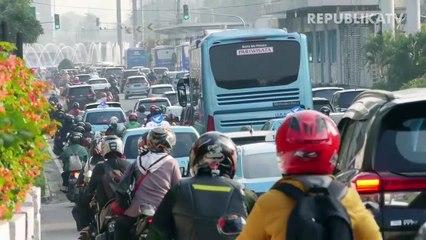 Lalu lintas di Jakarta