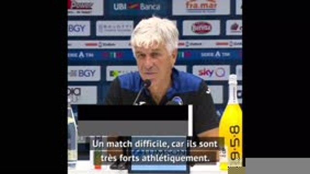 "Quarts - Gasperini : ""PSG, un match très difficile"""