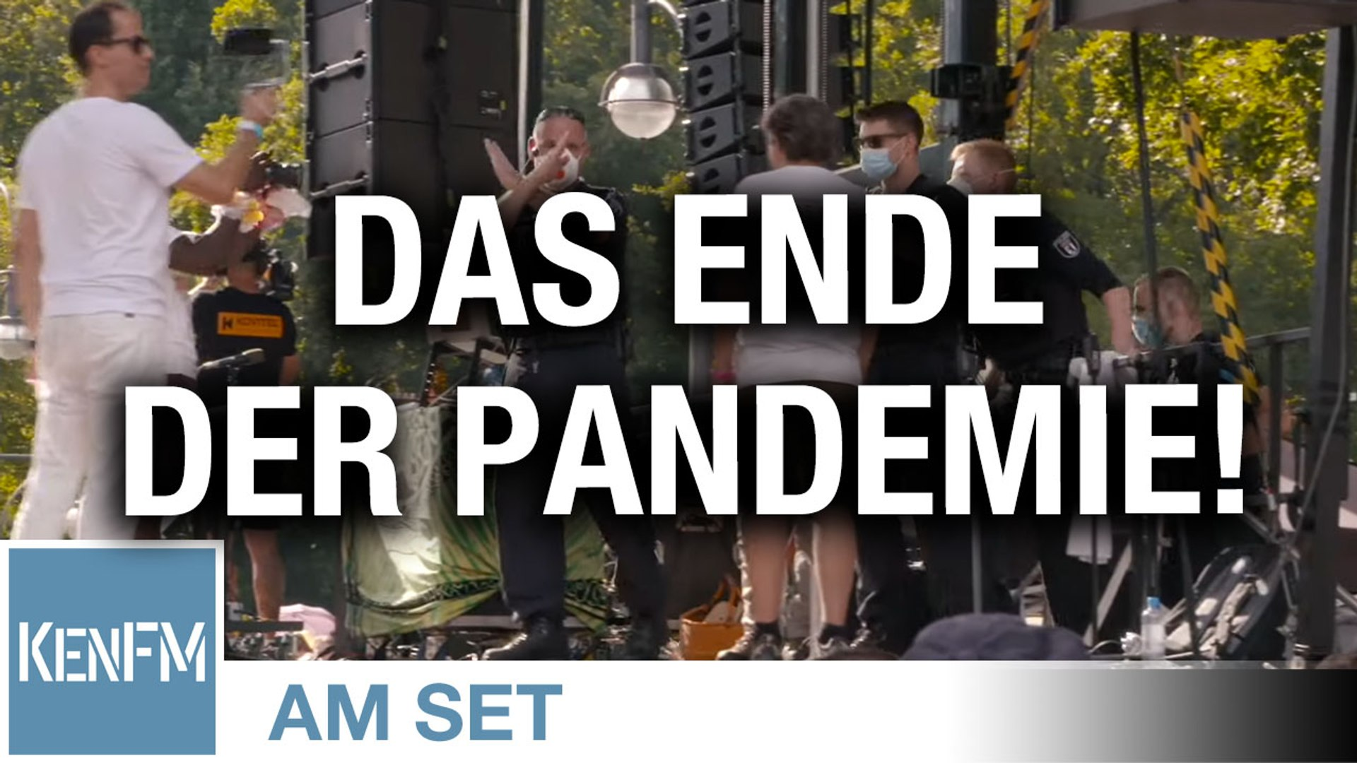 "KenFM am Set: Demonstration ""Das Ende der Pandemie – Der Tag der Freiheit"" am 1.8.2020 in Berlin"