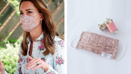 Where to Shop Kate Middleton's $20 Floral Face Mask — and 4 More That Look Just Like It