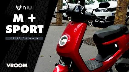 Test du Niu M+ Sport : un scooter électrique maniable mais un peu cher ?