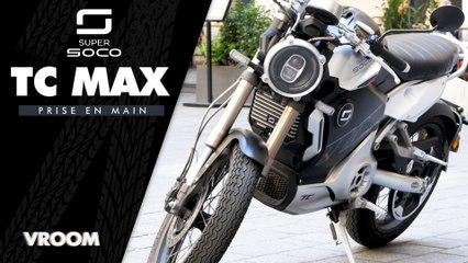 Test de la Super Soco TC Max : la moto électrique stylée et fiable