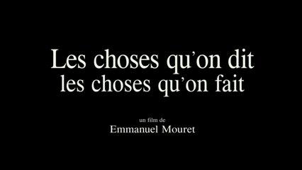 Les Choses qu'on dit, Les Choses qu'on Fait (2020) en Français HD