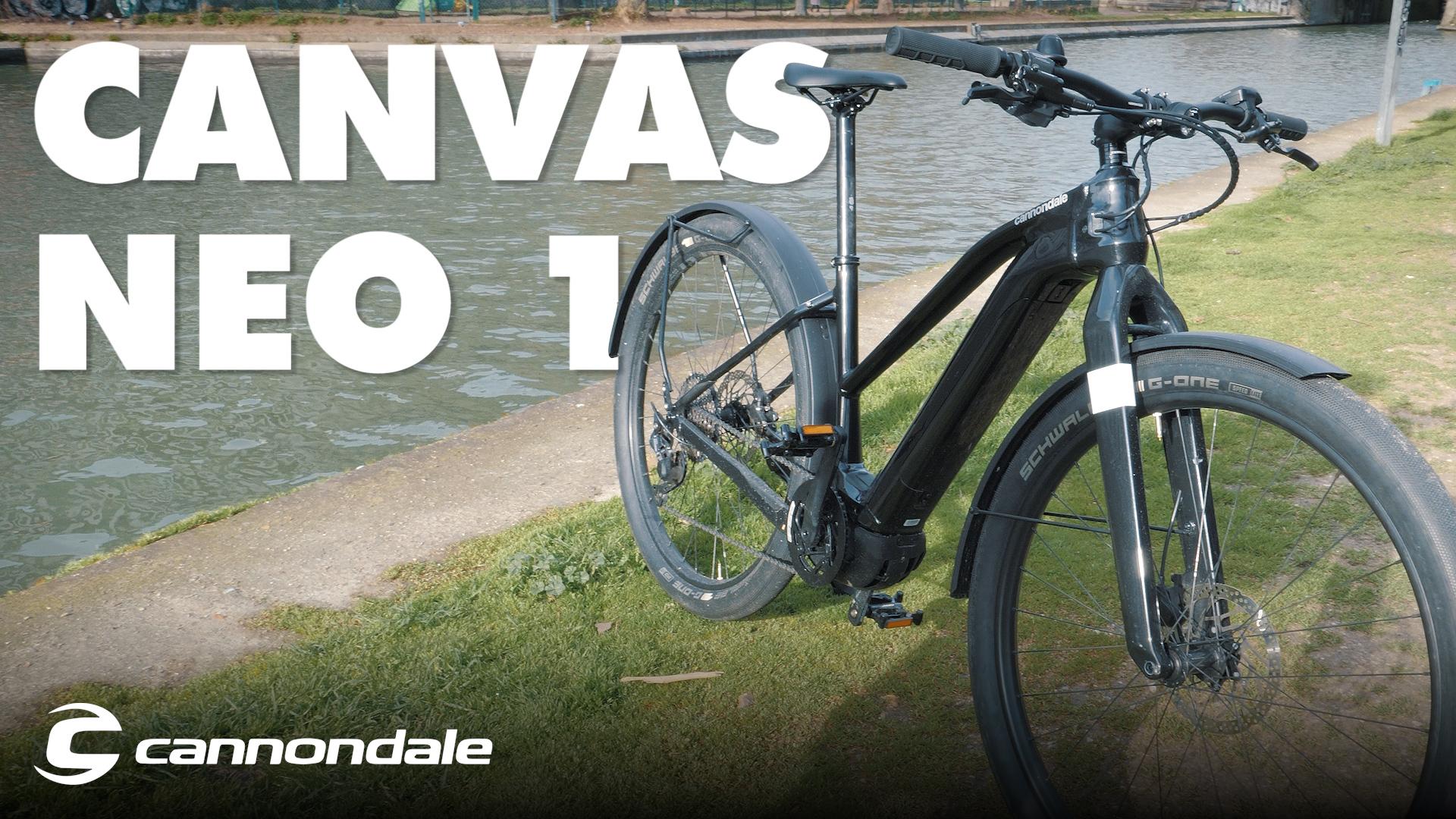 On a testé le Cannondale Canvas Neo 1: le vélo électrique à l'américaine