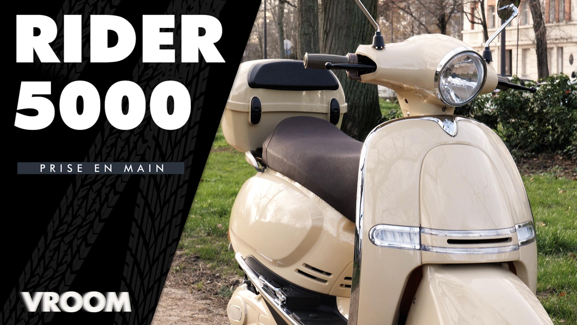 Test du Rider 5000W : un scooter électrique furieux mais avec du style