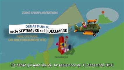 Dunkerque éolien en mer - Vidéo de présentation du débat