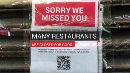 Many Restaurants Are Closed for Good