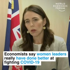 Women Leaders Better At Fighting COVID-  19, Economists Say
