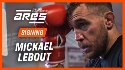 Mickael Lebout signs with ARES FC