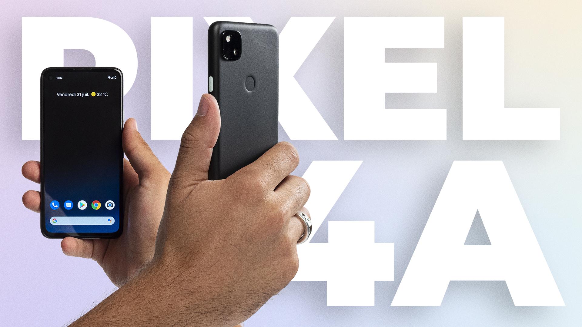 Google Pixel 4A : notre PRISE EN MAIN du meilleur photophone à 349 euros !