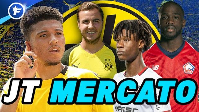 Journal du Mercato : le Borussia Dortmund veut continuer de piller la Ligue 1