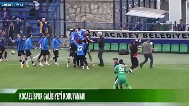 La demi-volée victorieuse de Cenk Ozkacar à la 90e+9 min en D2 turque