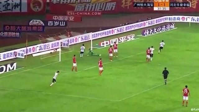 La superbe volée d'Hernanes avec Hebei China Fortune