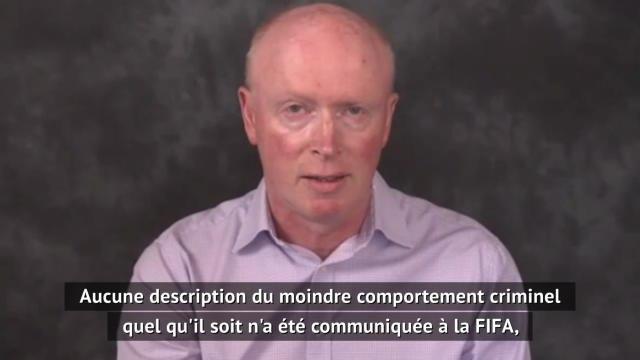 """FIFA - Bell : """"Quelque chose d'un peu grotesque et injuste"""""""