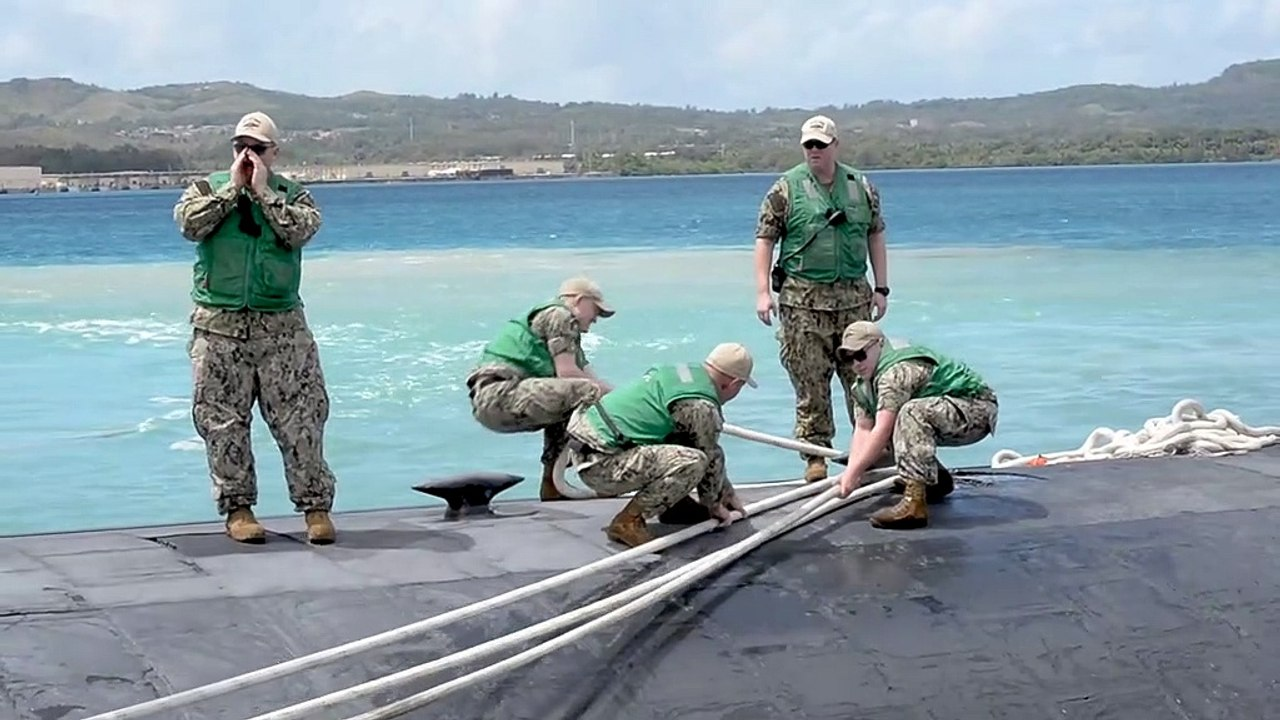 U.S Navy • Fast Attack Submarines • Naval Base Guam July 13, 2020