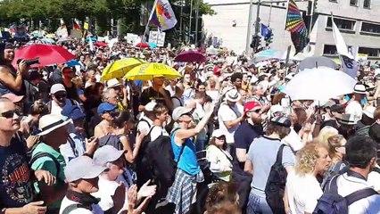 Tag der Freiheit am 1.8.2020 in Berlin - Ende der Pandemie - Reportage