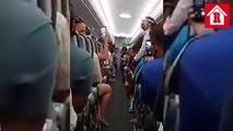 Lady Covid: Bajan a mujer de avión por no respetar medidas sanitarias