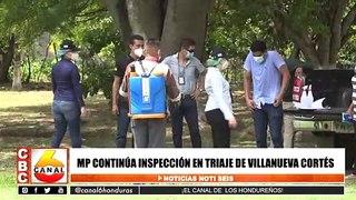 MP continua inspección en triaje de Villanueva, Cortes