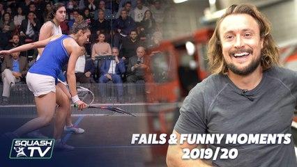 Squash: NotShots, Funny Moments and Fails - 2019/20