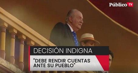 """Irene Montero: """"La huida del rey emérito es una decisión indigna avalada por la Casa Real"""""""