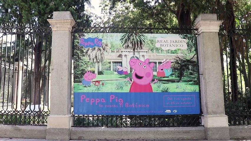 Peppa Pig y Jardín Botánico