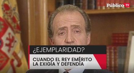 """Juan Carlos I:  """"La justicia es igual para todos"""""""