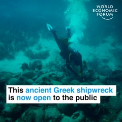 This ancient Greek shipwreck is now open to the public