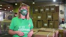 Voluntaria de Iberdrola explica el destino de respiradores donados por la compa�