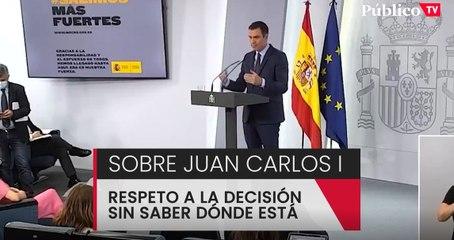 """Pedro Sánchez: """"Se juzga a las personas, no se juzga a las instituciones"""""""