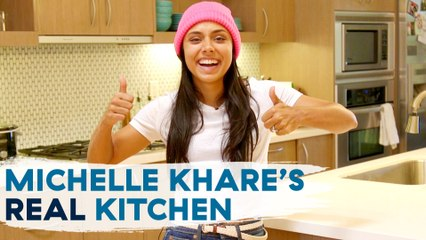Michelle Khare Shows Us Her Real Home Kitchen