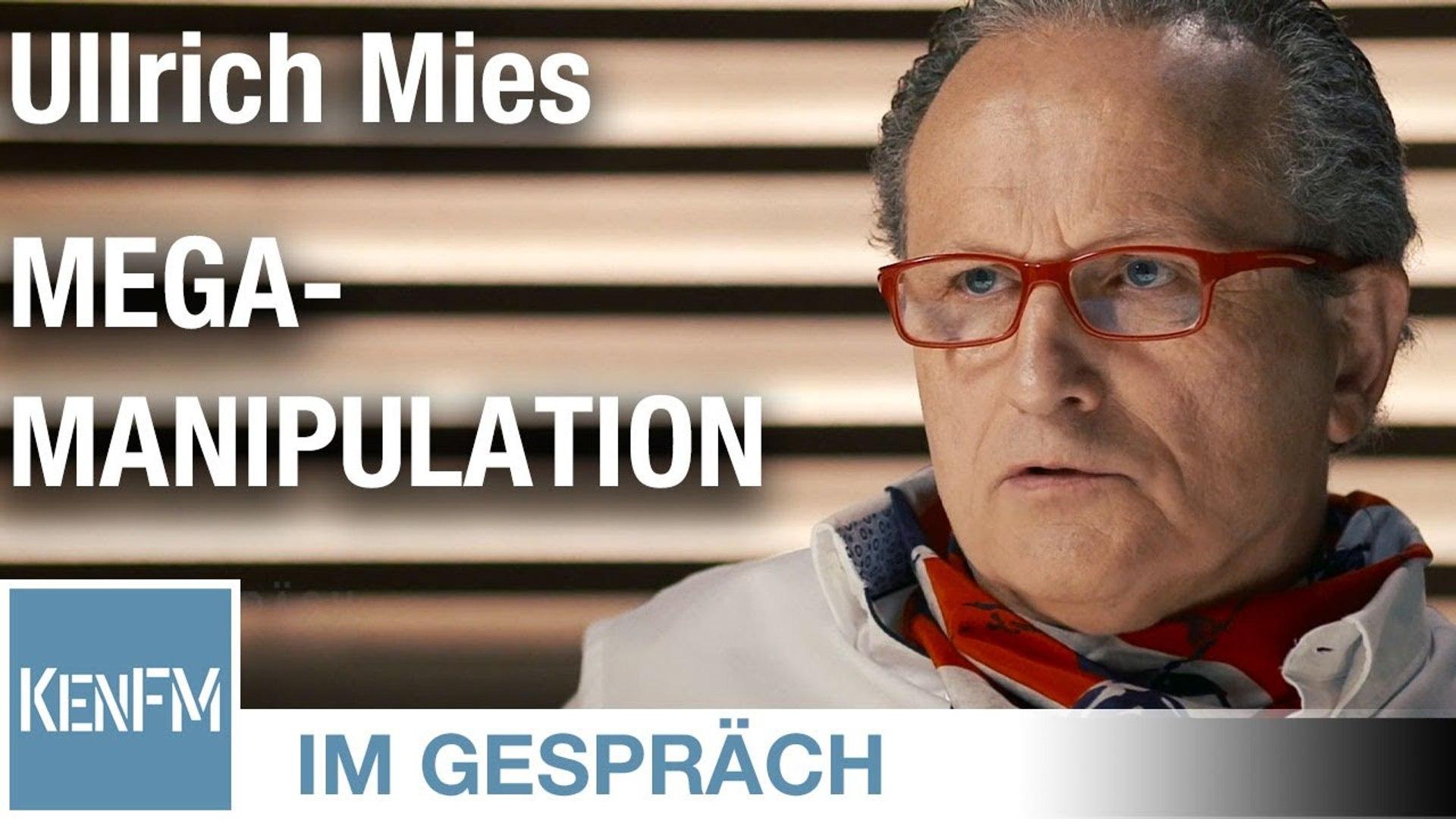 """Im Gespräch: Ullrich Mies (""""Mega-Manipulation: Ideologische Konditionierung in der Fassadendemokrati"""