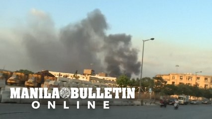 Two explosions rock Lebanon's capital Beirut, dozens wounded