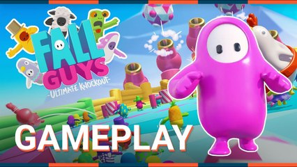 FALL GUYS : ULTIMATE KNOCKOUT - GAMEPLAY FR - PC PS4