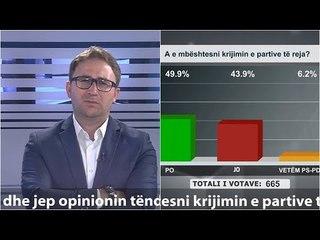 """""""Shtypi i Ditës dhe Ju"""" me Andi Kapxhiun 2 gusht 2020, Qytetarët në DILEMË për partitë e reja"""