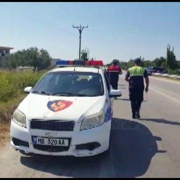Aksident në Berat/ Makina kthehet përmbys, drejtuesi i mjetit përfundon në spital