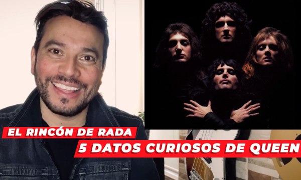 ¡5 interesantes datos de Queen! Con Radamez Núñez