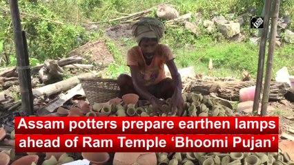 Assam potters prepare earthen lamps ahead of Ram Temple 'Bhoomi Pujan'
