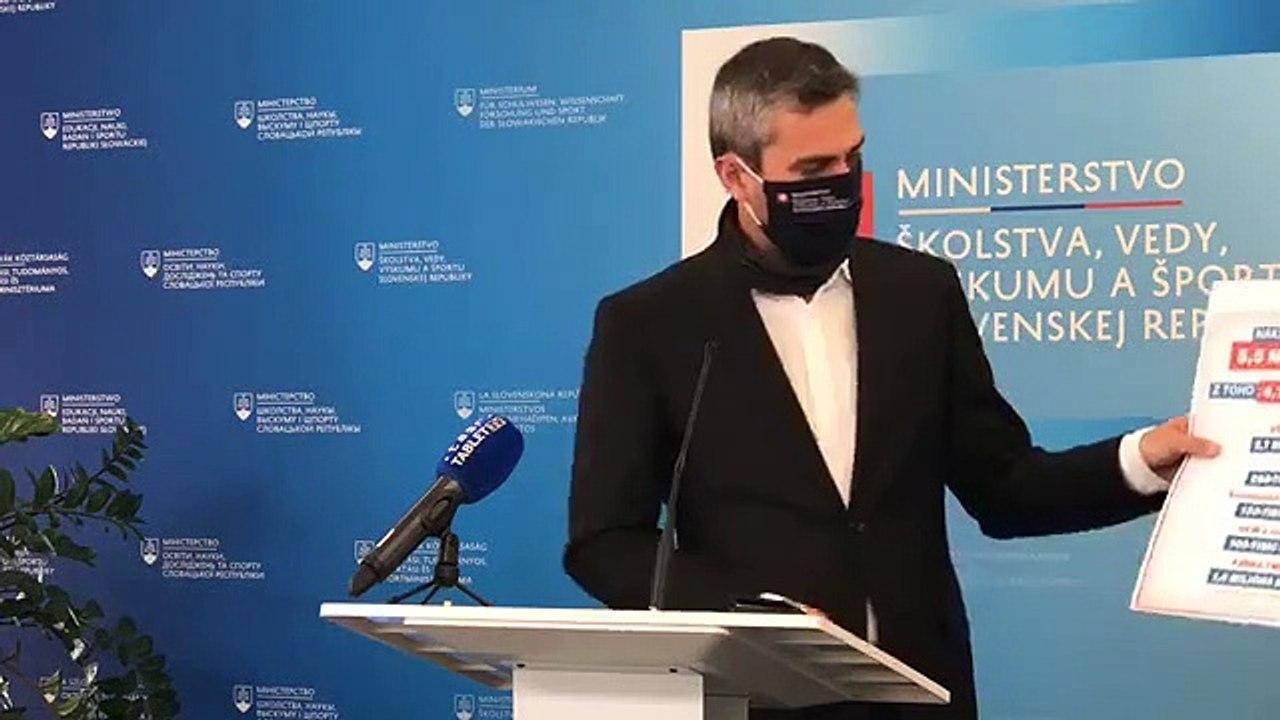 ZÁZNAM: TK štátneho tajomníka MŠVVŠ SR Ľudovíta Paulisa