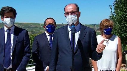 Soutien à la filière viticole : déclaration du Premier ministre, Jean Castex