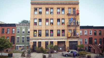 Candy Factory: Jason Schmidt Apartment Windows