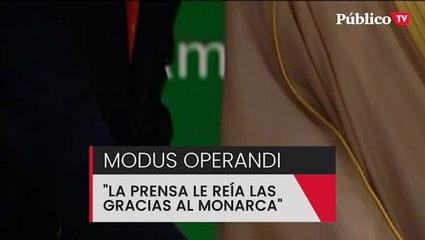 """""""La prensa no hizo su papel de informar de lo que estaba pasando, le reían las gracias al monarca"""""""